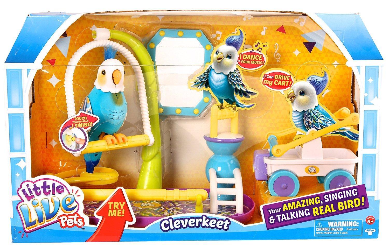Perroquet interactif Little Live Pets - 33723 - S3 - Oiseau Mali Cuicui