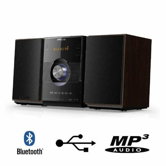 Mini Chaîne HiFi Takara MSL300 (CD, Bluetooth, MP3) - 60 W