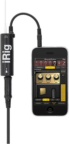 Transformez votre iPhone / iPod / iPad en ampli guitare - iRig