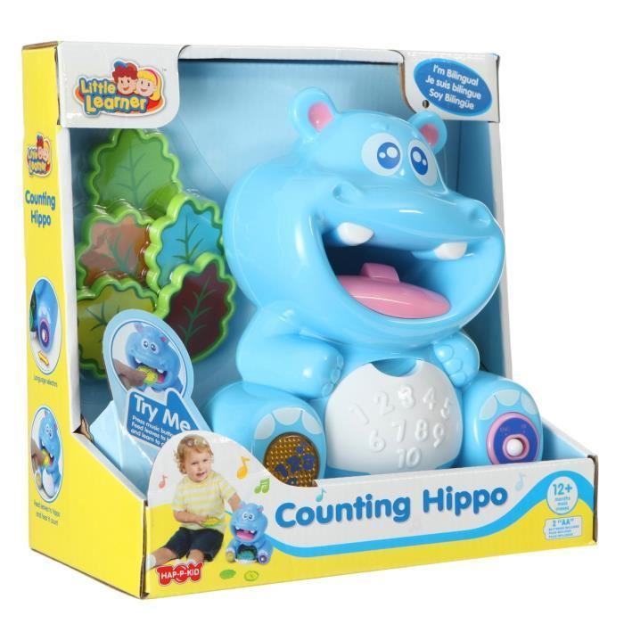 Jeu d'éveil éducatif Hippopotame Bilingue