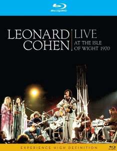 Leonard Cohen: Live at the Isle Of Wight en Blu-ray