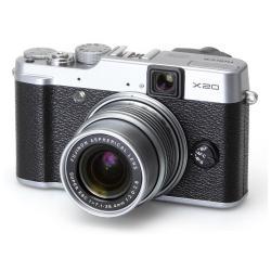 Pré-commande : Appareil photo Fujifilm X20 silver