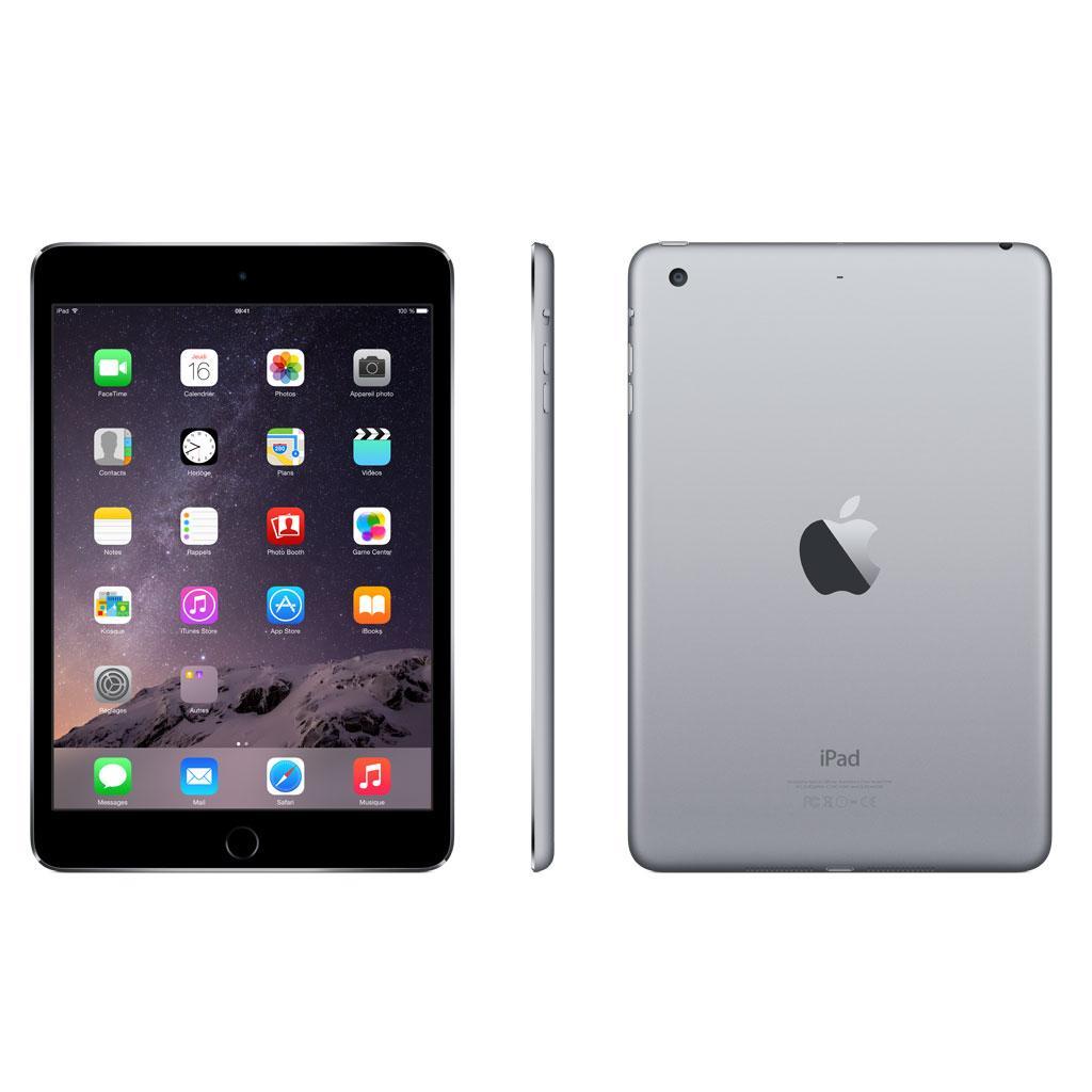 Apple iPad Mini 3 16 Go gris