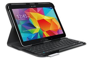 "Etui-Clavier Logitech Ultrathin pour Samsung Galaxy Tab 4 10,1"" - Noir"