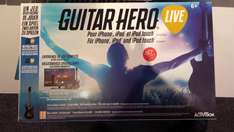 Jeu Guitar Hero live sur iPhone/iPad