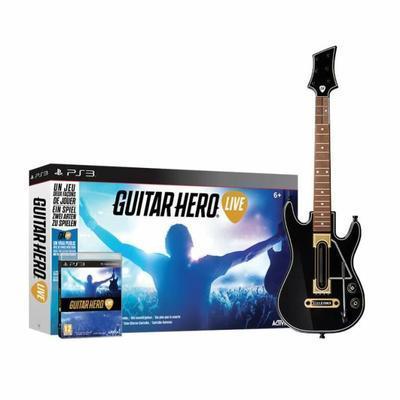 Guitar Hero Live sur PS3 (avec la guitare)