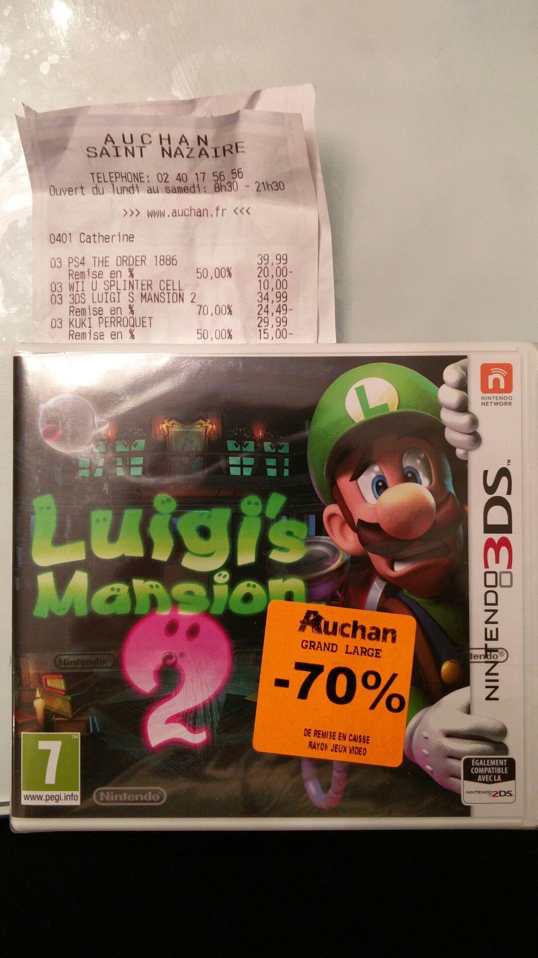 Jeu Luigi's mansion 2 sur Nintendo 3DS