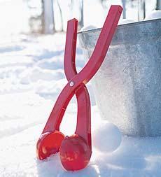 Pince à boules de neige - Divers coloris