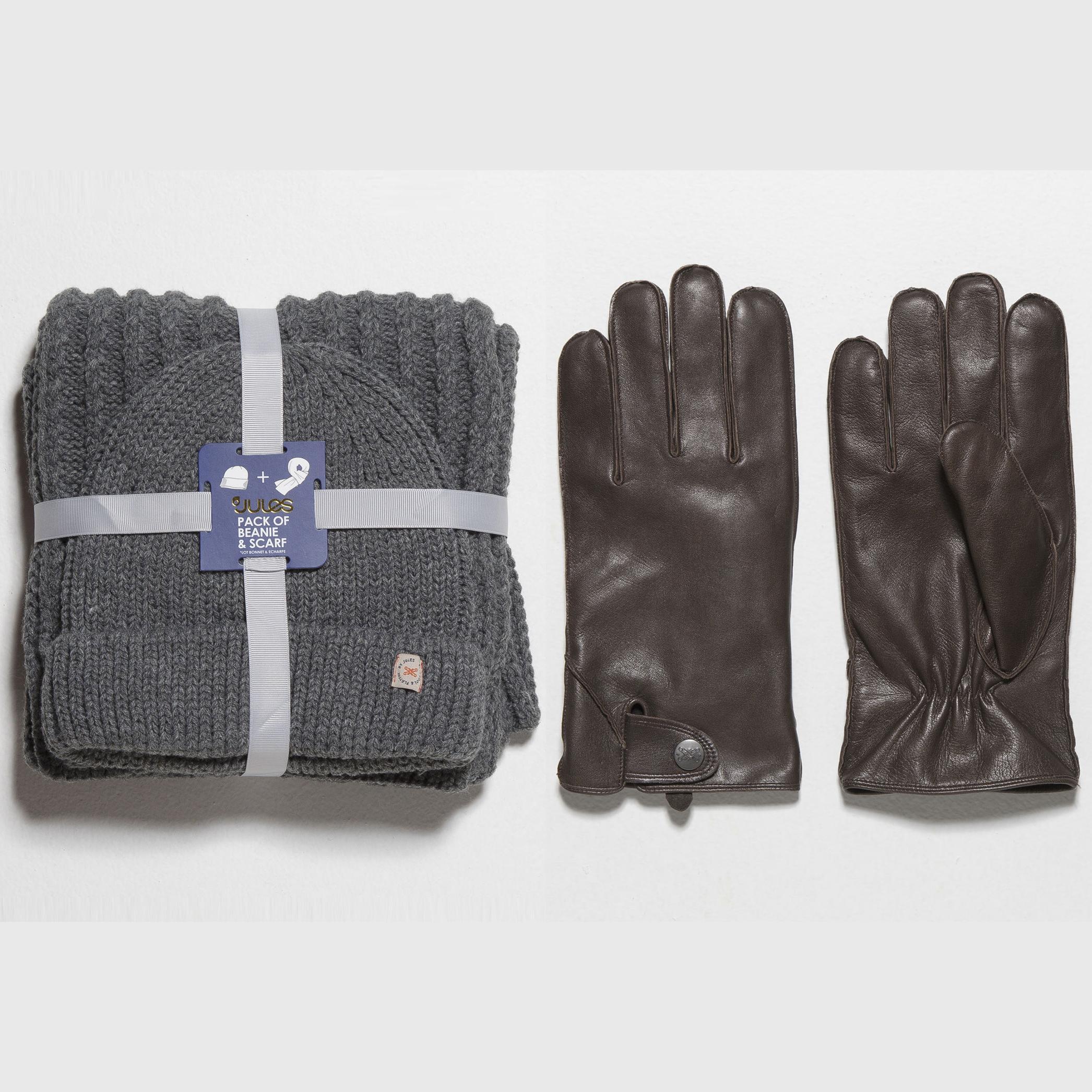 """Un accessoire """"froid"""" soldé acheté = Le second à 5€ - Ex : Kit écharpe et bonnet + Paire de gants cuir avec pression"""