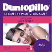 Couette Dunlopillo microfibre légère 200 g/m² 260x240cm à 24€ ou 140x200cm