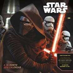 Calendrier 2016 Star Wars : The Force Awakens