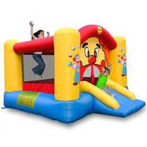 Aire de jeux gonflable Clown 300x225x175cm - Livrée avec un souffleur permanent