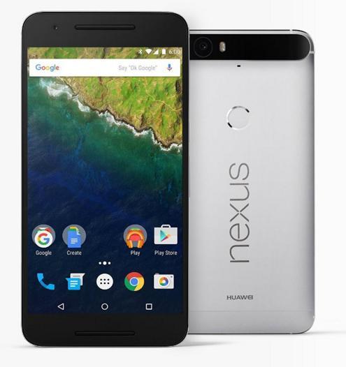 """Smartphone 5.7"""" Nexus 6P - 128 Go, Aluminium"""