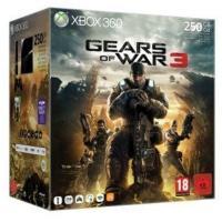 Sélection de consoles Xbox 360 et PS3 en promo - Ex  : Pack console Xbox 360 slim (250 Go) avec Gears Of Wars 3