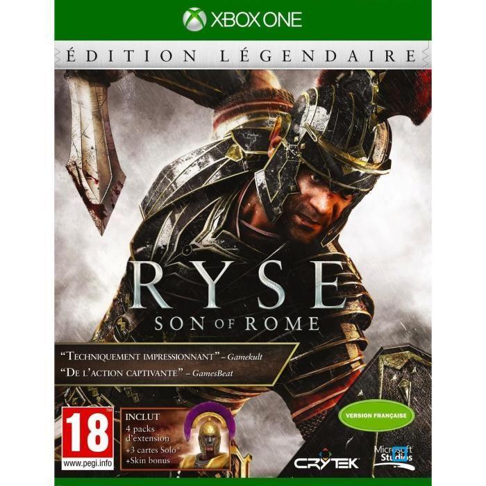 Jeu Ryse : Son of rome sur Xbox One - édition légendaire