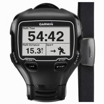 Montre GPS Multisports Garmin Forerunner 910XT HR avec Ceinture cardiofréquencemètre - Reconditionnée