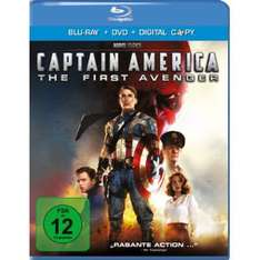 Combo Blu-Ray + DVD Captain America : First Avenger ou  Thor