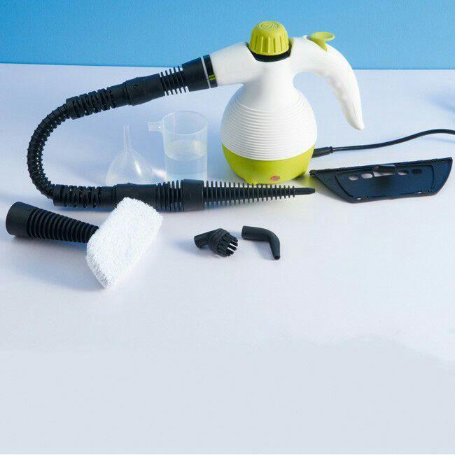 Nettoyeur vapeur à main 1050W (9 accessoires)