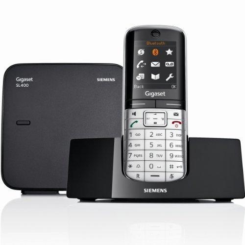 Téléphone sans fil Gigaset SL400 - Bluetooth, Noir