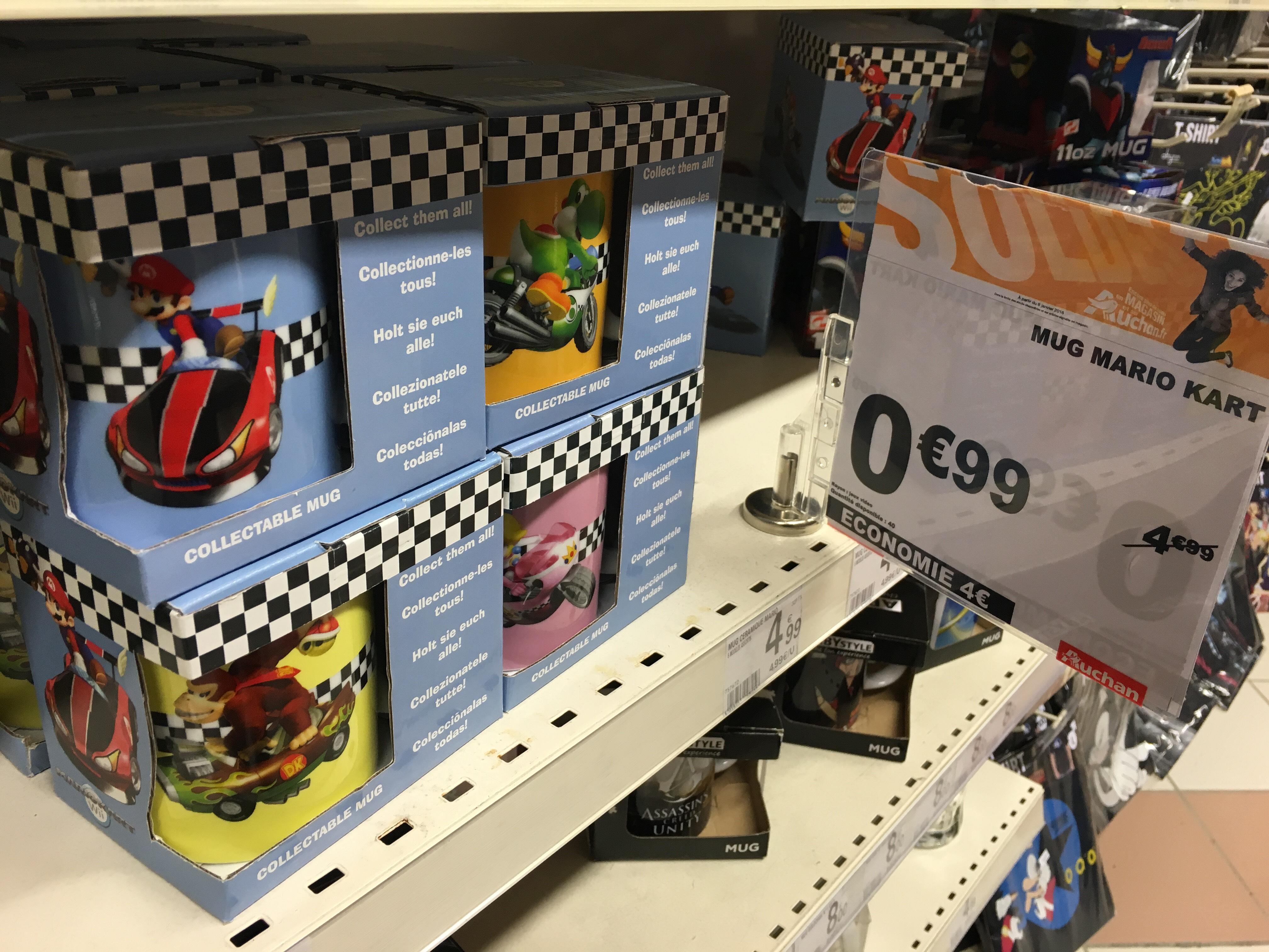 Mug Mario Kart - Plusieurs modèles