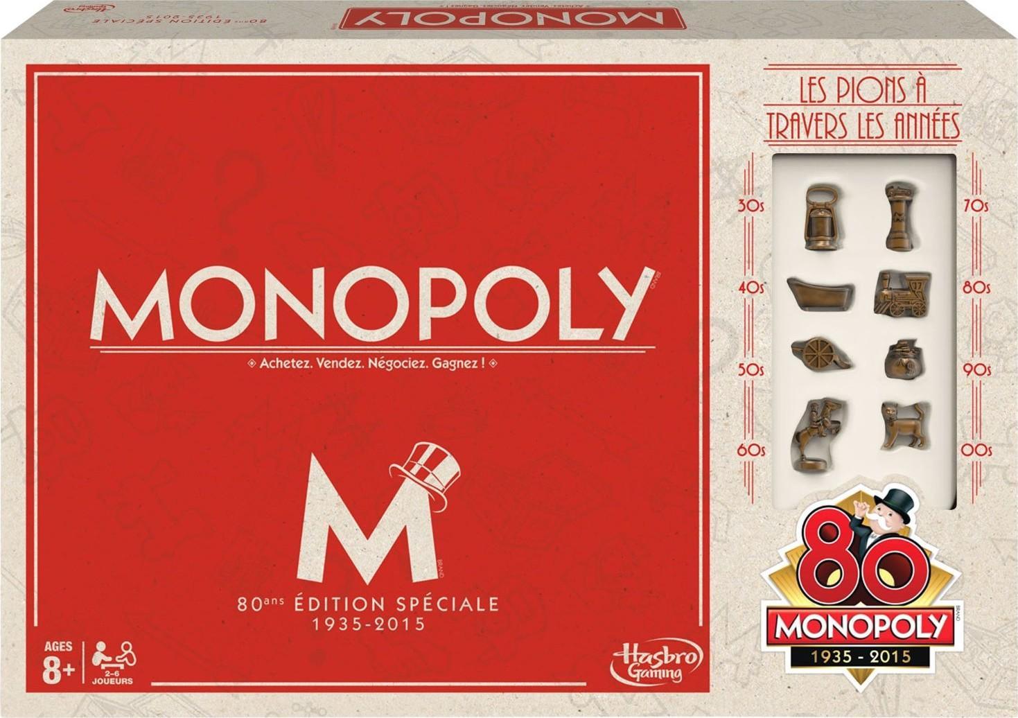 Monopoly Vintage spécial 80 ans