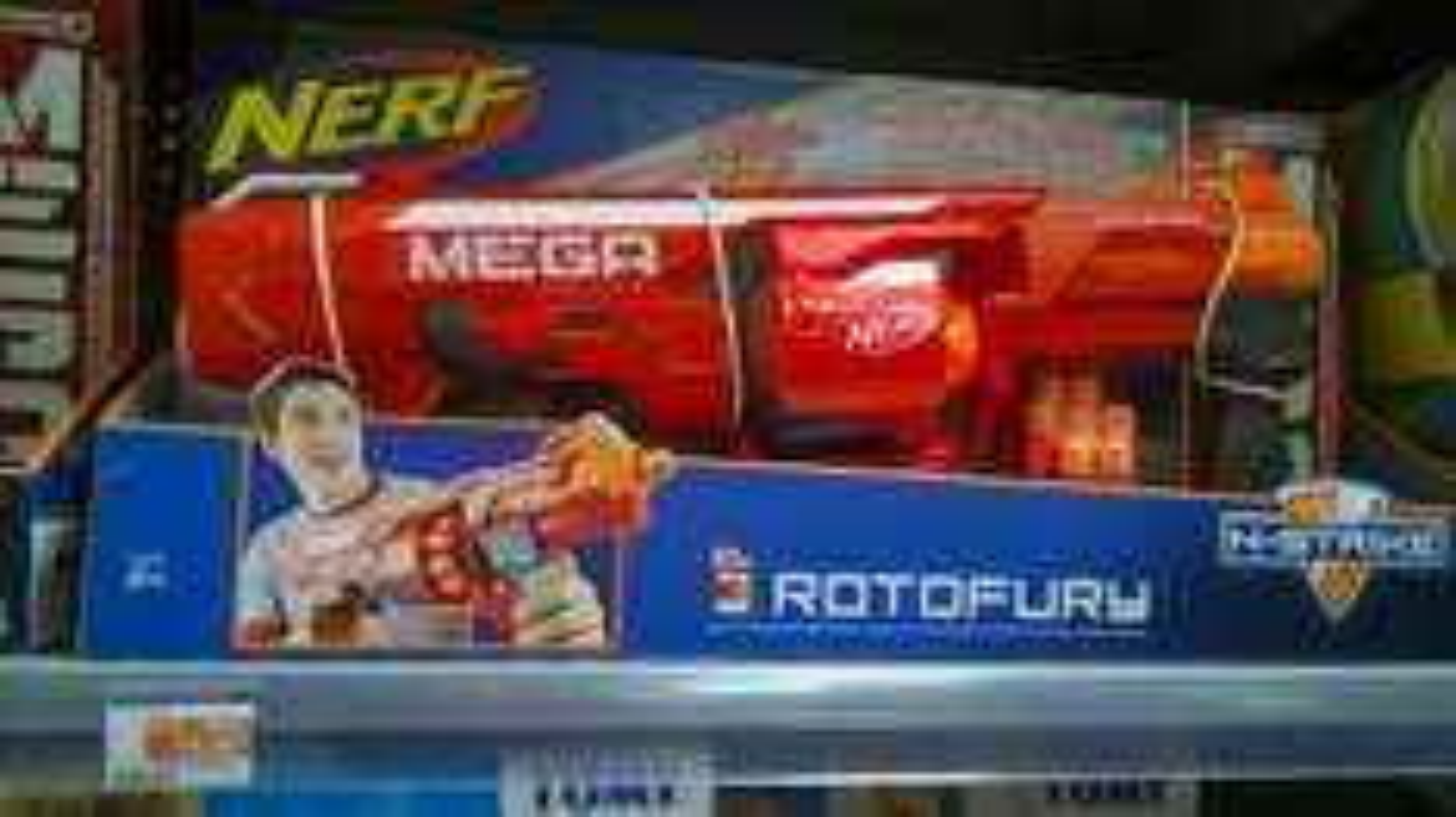 Pistolet Nerf Mega Elite Rotofury (avec ODR 50%)