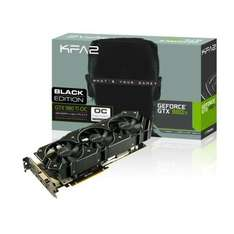 Carte graphique KFA2  GeForce GTX 980 Ti OC Black Edition