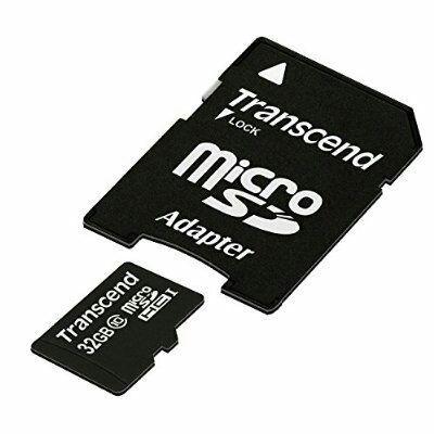 Carte mémoire microSDHC Transcend 32 Go Classe 10 avec adaptateur à 7.99 pour les premium sinon