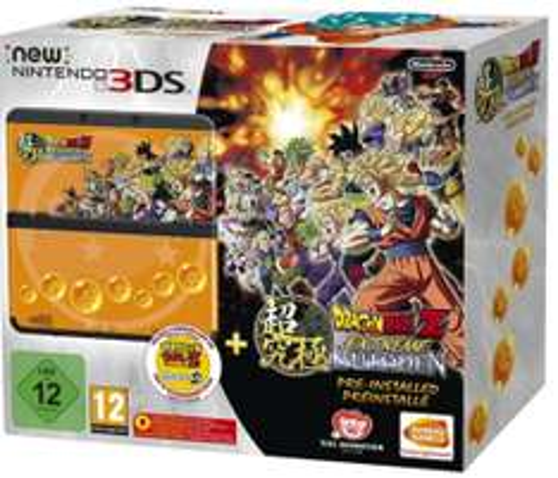Console Nintendo New 3DS + Dragon Ball Extreme Butoden préinstallé
