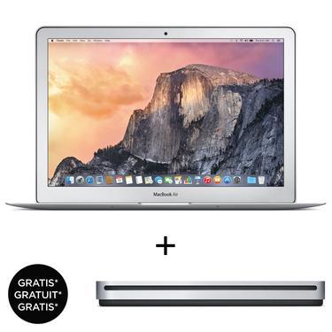 Macbook Air 13.3'' 1.6 GHz 256Go (Qwertz) + Lecteur optique Apple SuperDrive USB