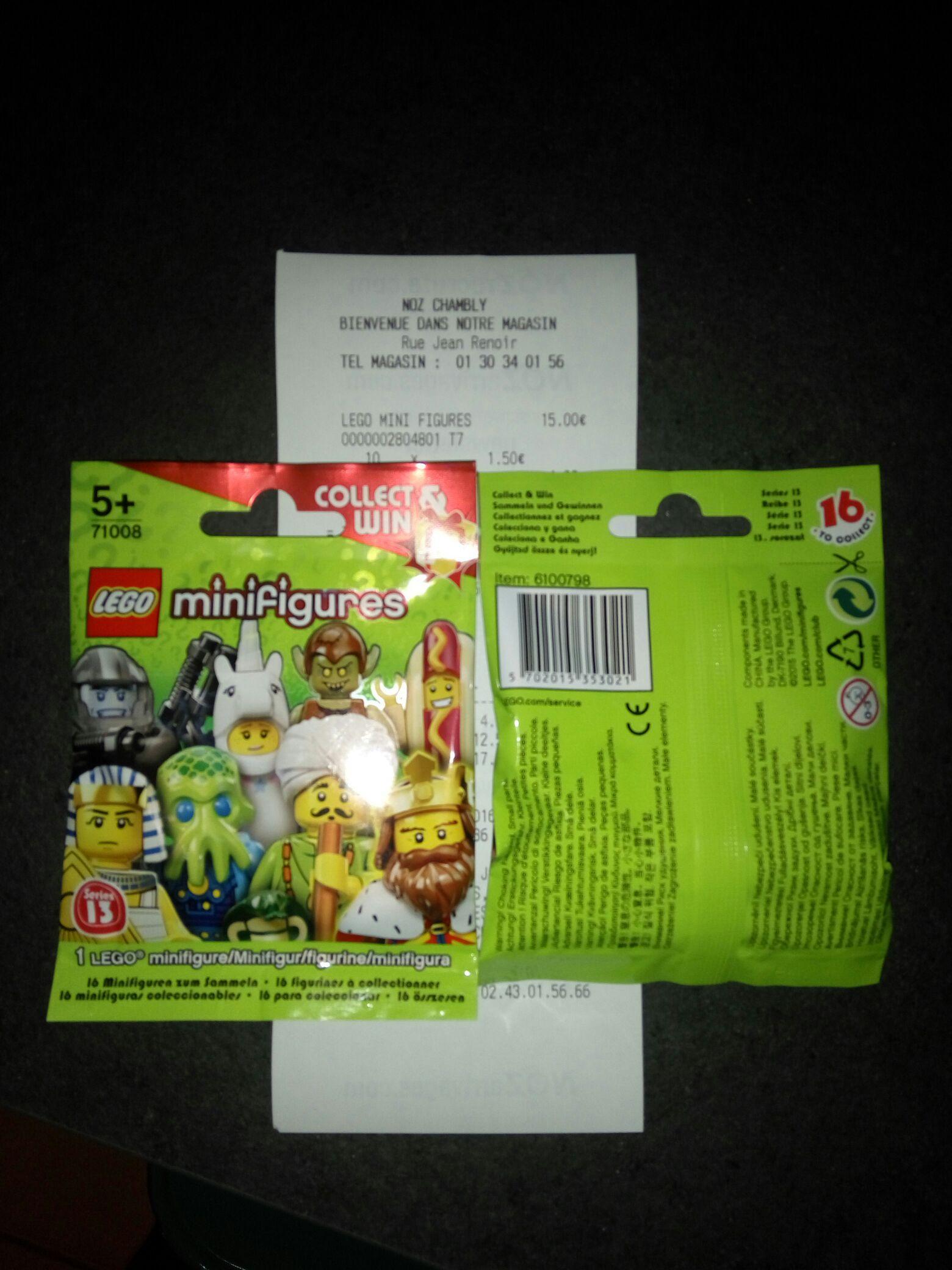 Lego Minifigures série 13