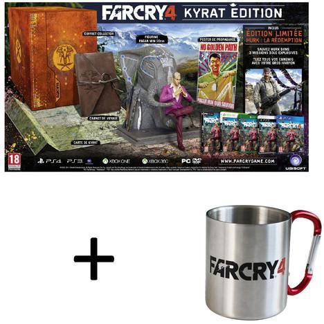 Jeu Far Cry 4 sur Xbox 360 - Kyrat Edition + Mug Far Cry 4