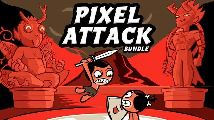 Pixel Attack Bundle - 8 Jeux sur PC (Dématérialisé - Steam)