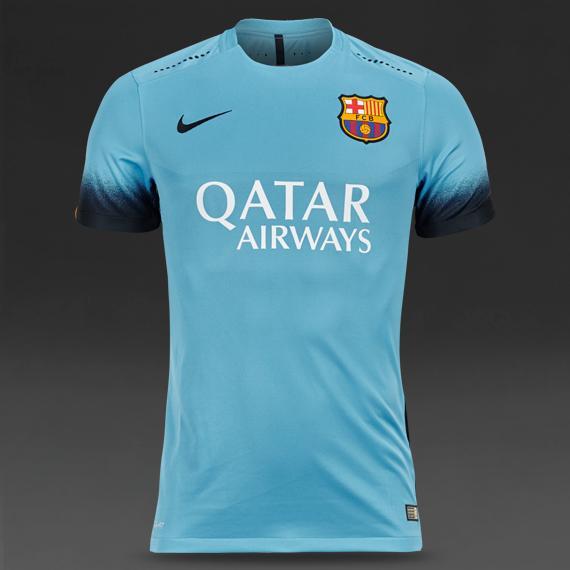 Sélection de Maillot de foot Nike en promotion - Ex : Barcelone 2015/2016 (Junior 9-10)