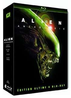 Coffret Blu-ray Alien Anthology - Edition Ultime Collector