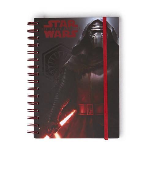 Au moins 50% (plus 20%) de réduction sur une sélection d'articles de la collection Star Wars Noël 2015 - Ex : Carnet Star Wars