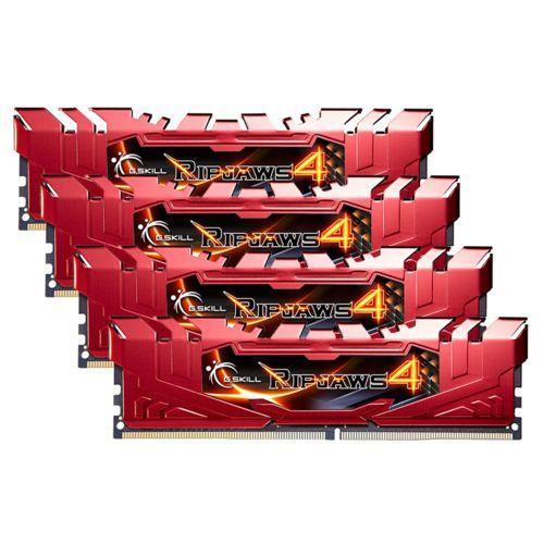 Kit mémoire Gskill Ripjaws 4 - 16 Go (4 x 4 Go), DDR4, 2400 MHz, Cas 15