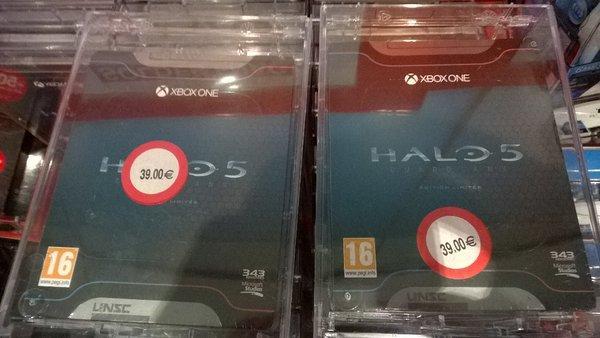 Halo 5 Guardians - Edition limitée sur Xbox One