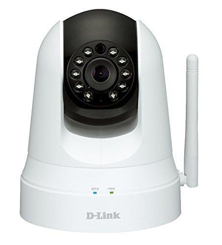 Caméra IP  D-Link  DCS-5020L/E + Répéteur Wi-Fi - Blanc