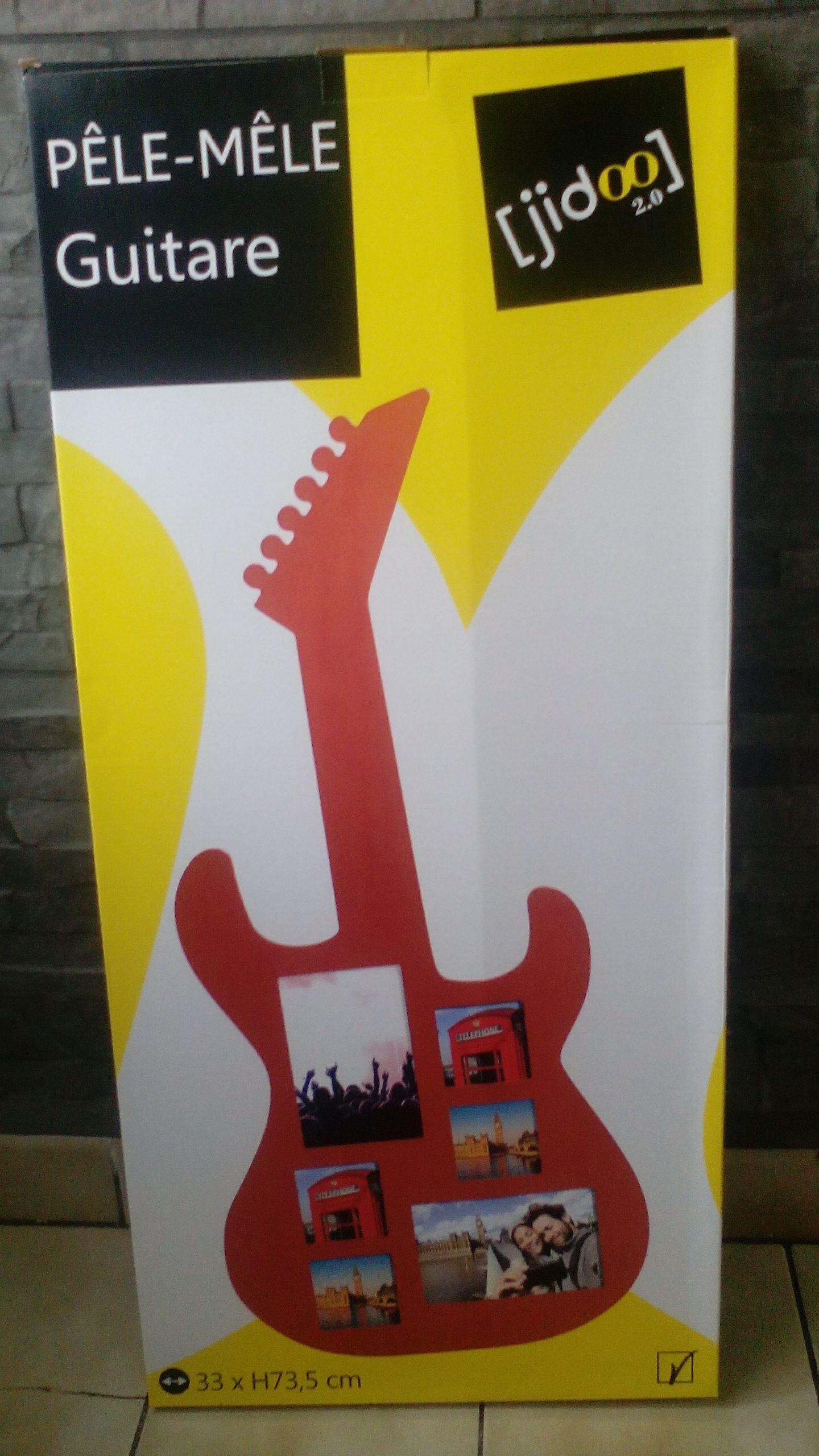Cadre Pêle-mêle Guitare