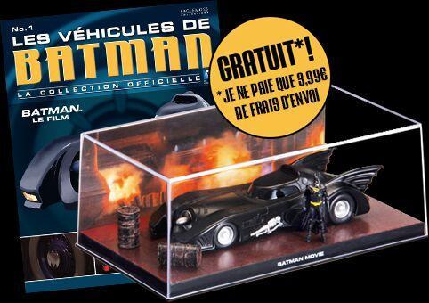 Batmobile + magazine - Les véhicules de Batman