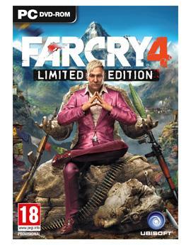 Sélection de jeux PC dématérialisés (Uplay) en promotion - Exemple : Far Cry 4 Limited Edition