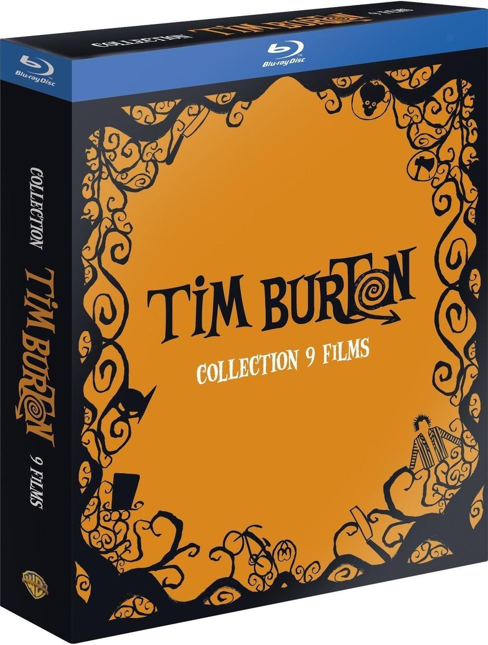 Coffret Blu-ray Tim Burton (9 films)