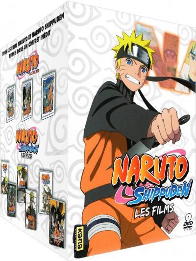 Coffret DVD Naruto & Naruto Shippuden - 9 films