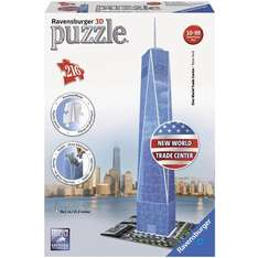 Puzzle 3D Ravensburger One World Trade Center - 216 pièces (3.48€ sur la carte)