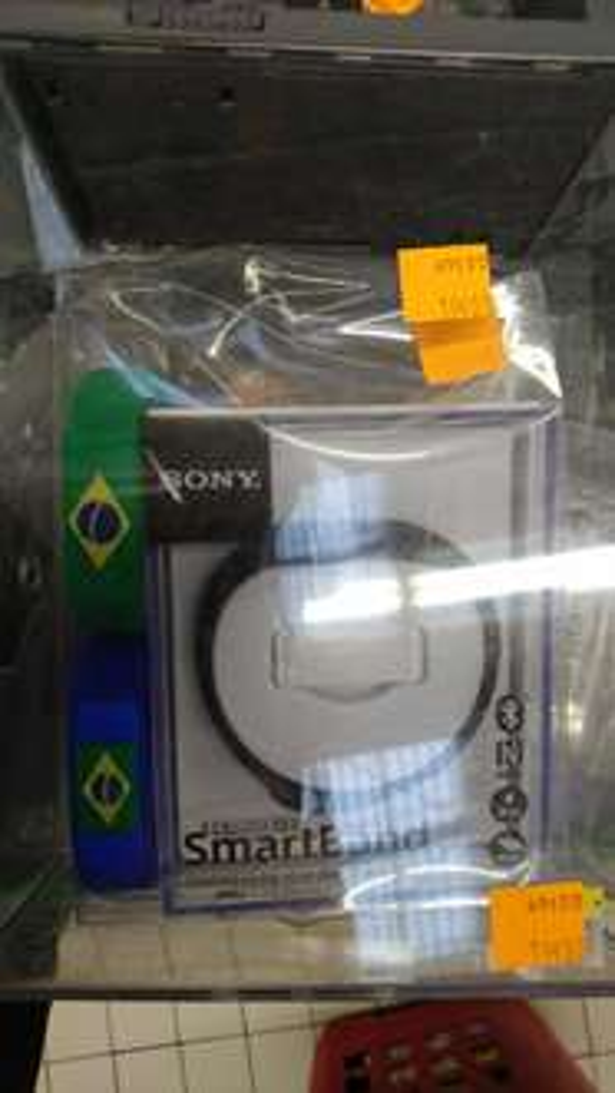bracelet connecté Sony SWR10 + 4 bracelets