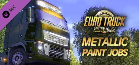 DLC Metallic Paint Jobs - Pack de peintures gratuit pour Euro Truck Simulator 2 sur PC