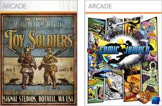 2 Jeux XBOX 360 Arcade Gratuits : Toy Soldiers & Comic Jumpers