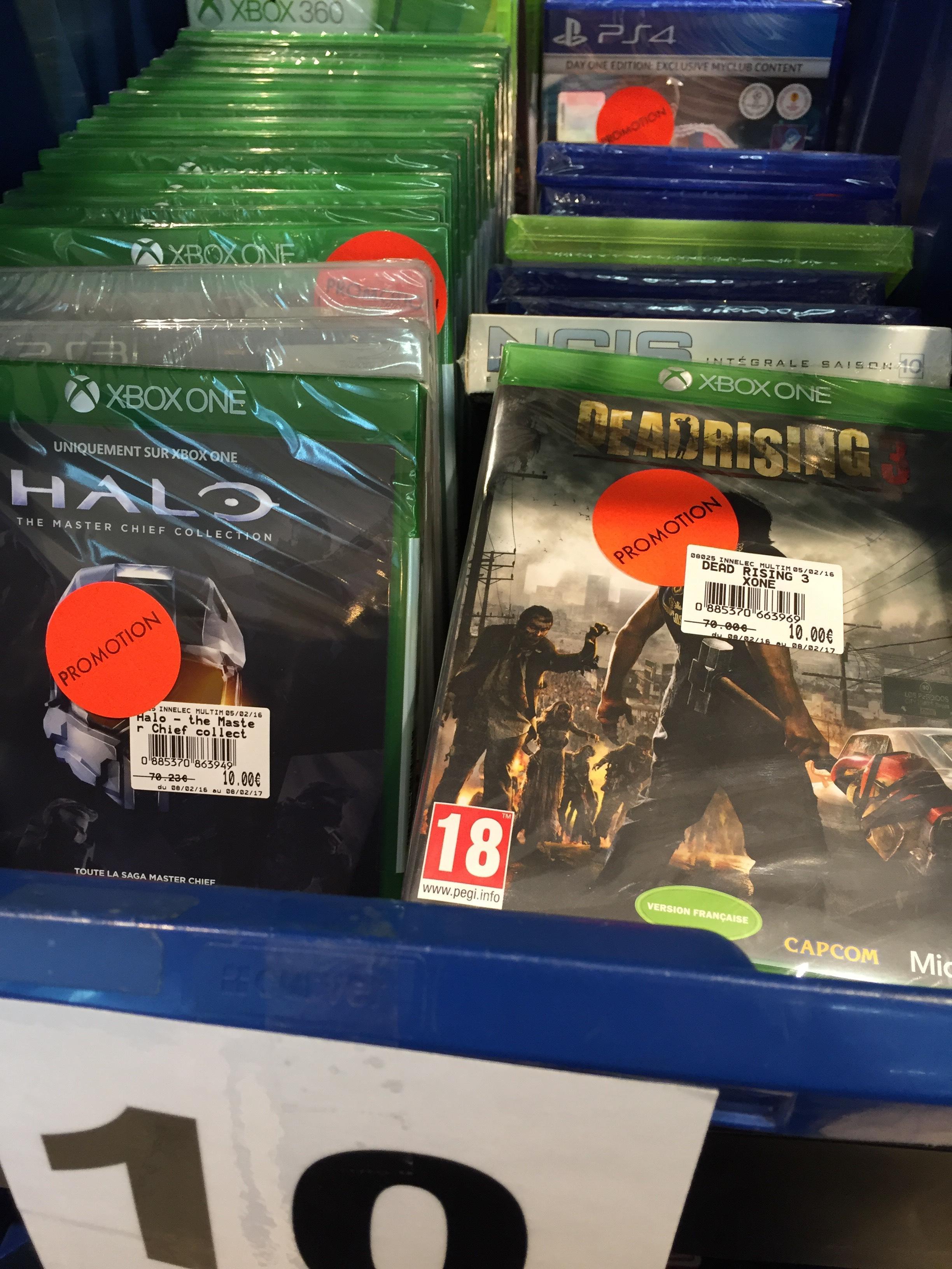 Sélection de jeux Xbox One / PS4 en promotion