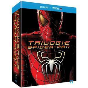 Coffret Blu-ray : Trilogie spiderman